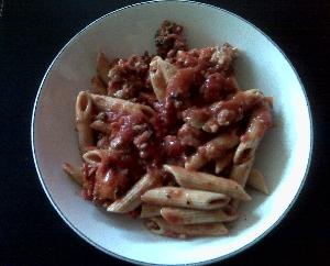 Accidental Locavore Pasta Puttanesca