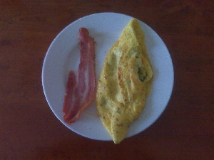 Accidental Locavore Omelet