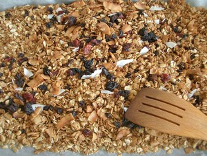 Accidental Locaovre Homemade Granola