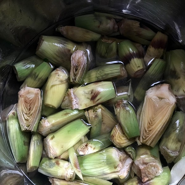 Accidental Locavore Artichokes for Veal Meatballs