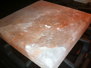 Accidental Locavore Pink Himalayan Salt Block