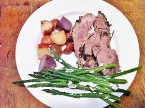 Accidental Locavore Lamb Dinner