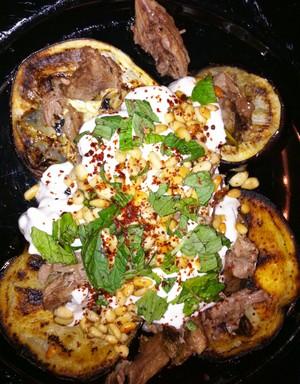 Accidental Locavore Lamb, Eggplant and Yogurt