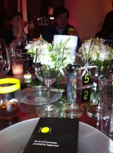 Accidental Locavore Table Setting