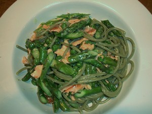 Accidental Locavore Smoked Salmon Pasta