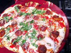 Accidental Locavore Moe's Pizza