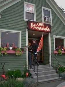 Accidental Locavore Cafe Miranda Exterior
