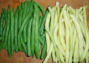 Accidental Locavore Green & Wax Beans