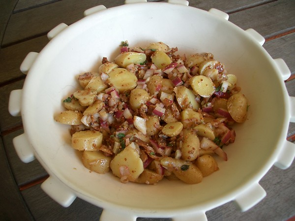 Accidental Locavore French Potato Salad