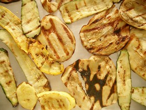 Accidental Locavore Grilled Vegetables