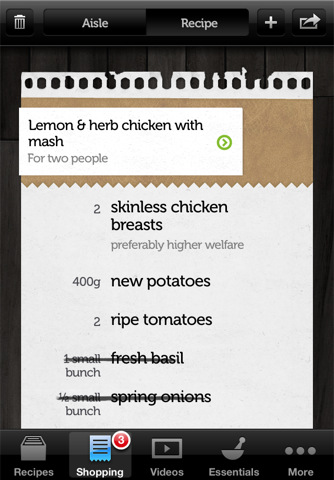 Accidental Locavore Jamie Oliver App