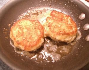 Accidental Locavore Crab Cakes