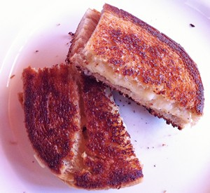 Accidental Locavore Grilled Cheese