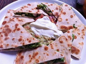 Accidental Locavore Organic Quesadillas