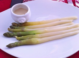 Accidental Locavore Cold Asparagus