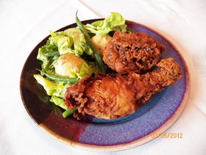 Accidental Locavore Fried Chicken