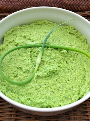 Accidental Locavore Garlic Scape Pesto