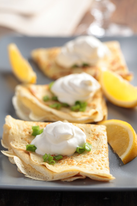 Accidental Locavore Lemon Crepes
