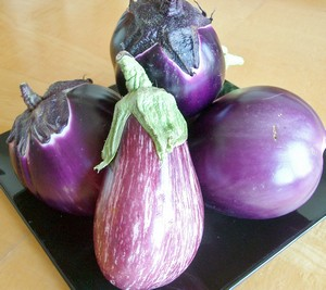 Accidental Locavore Striped Eggplant