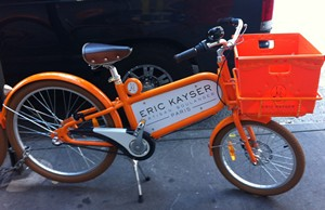 Accidental Locavore Delivery Bike