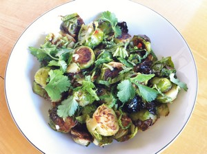 Accidental Locavore Brussels Sprouts Asian Vinaigrette
