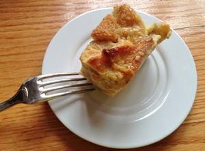 Accidental Locavore Bread Pudding