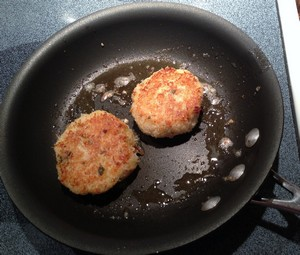 Accidental Locavore Making Crab Cakes