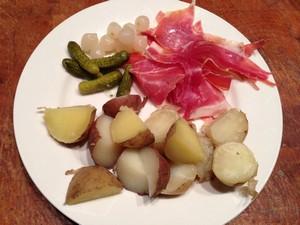 Accidental Locavore Raclette Ingredients