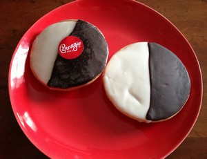 Accidental Locavore Black & White Cookies