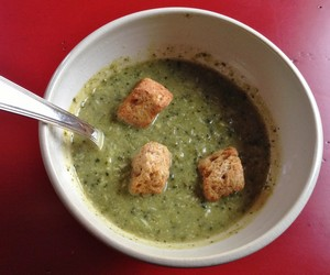 Accidental Locavore Broccoli Soup