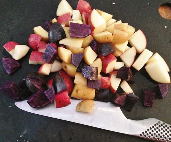 Accidental Locavore Multi-Color Potatoes