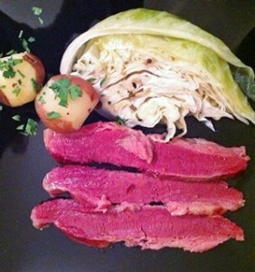 Accidental Locavore Corned Beef and Cabbage
