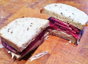Accidental Locavore Pastrami Sandwich