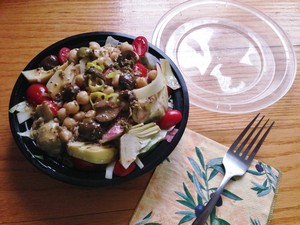 Accidental Locavore Salad to Go
