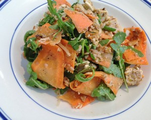 Accidental Locavore Chicken and Carrot Salad