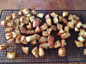 Accidental Locavore Croutons