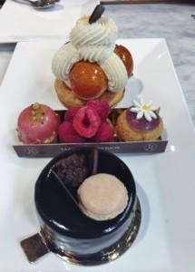 Accidental Locavore Dessert Trio