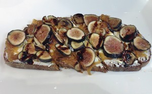 Accidental Locavore Fig Tartine