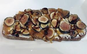 Accidental Locavore Fig Tartine
