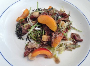Accidental Locavore Lamb Salad