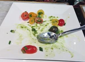 Accidental Locavore Tomatoes and Buratta