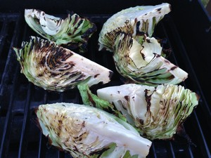 Accidental Locavore Grilling Cabbage