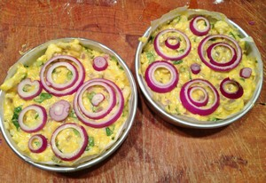 Accidental Locavore Cauliflower Cake Twins