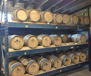 Accidental Locavore Oak Barrels