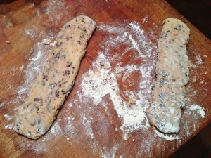 Accidental Locavore Forming Biscotti