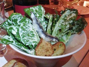 Accidental Locavore Tavern Caesar Salad