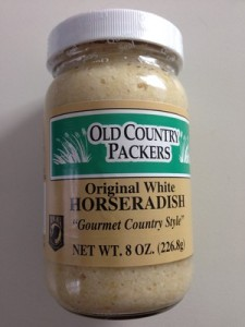 Accidental Locavore Bottled Horseradish