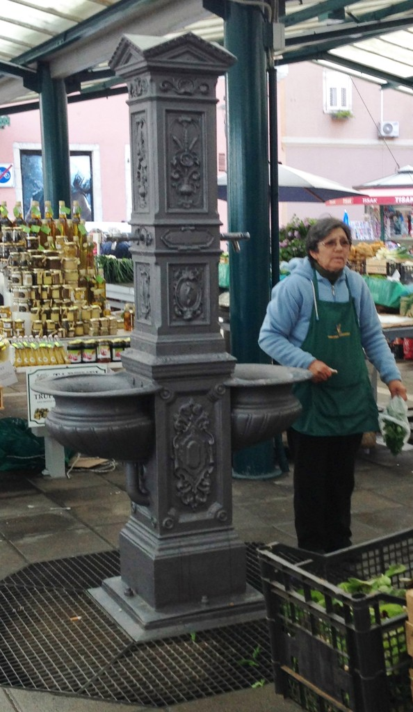 Accidental Locavore Market Fountain