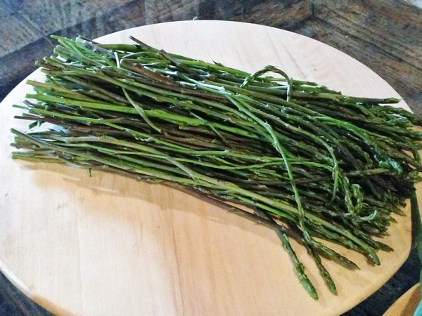 Accidental Locavore Wild Asparagus