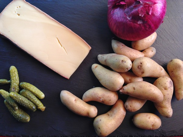 Accidental Locavore Raclette Potatoes Ingredients